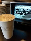 The Kingfield Latte ~ Five Watt Coffee (MPLS)